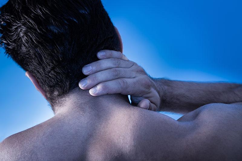 Neck pain auto accident